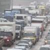 Des automobilistes coincés depuis des jours entre Moscou et St-Pétersbourg