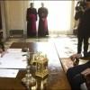 Michel Martelly reçu par le pape