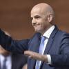 Gianni Infantino élu président de la FIFA