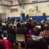 """HUNDREDS ATTEND WILLIAMS, PARKER, AND BICHOTTE """"STATE OF IMMIGRATION,STATE OF EMERGENCY"""" FORUM"""